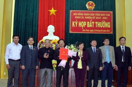 Bầu bổ sung Phó Chủ tịch UBND tỉnh Kon Tum
