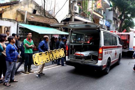 Vụ cháy ở phố Bát Đàn: Xác định một người tử vong