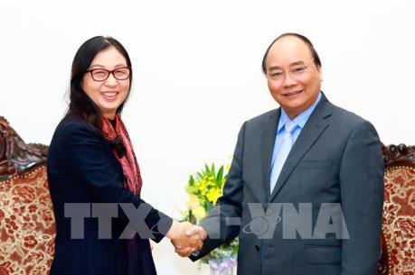 Thủ tướng Nguyễn Xuân Phúc tiếp Tập đoàn Huawei, Trung Quốc