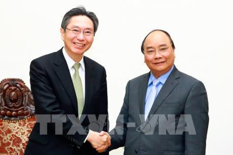 Thủ tướng Nguyễn Xuân Phúc tiếp Ngân hàng BTMU, Nhật Bản