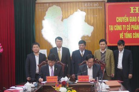 Chuyển giao CTCP Phát triển hạ tầng khu công nghiệp Thái Nguyên về SCIC