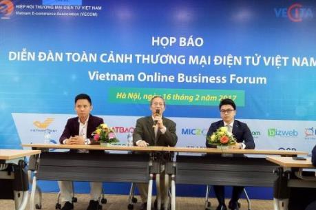 Sắp diễn ra Diễn đàn toàn cảnh Thương mại điện tử lớn nhất tại Việt Nam
