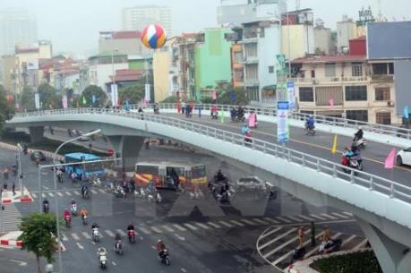 Đề nghị xây cầu vượt cho người đi bộ khu vực sân bay Nội Bài