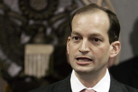 Tổng thống Mỹ đề cử ông Alexander Acosta làm Bộ trưởng Lao động