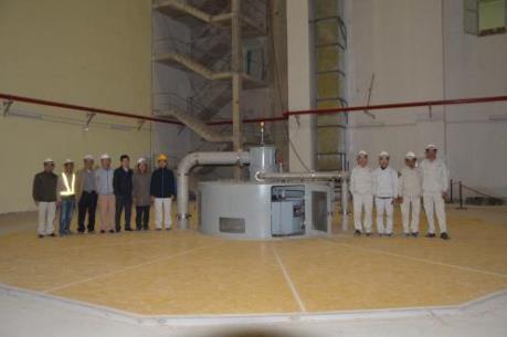 Phát điện Tổ máy 1 Thủy điện Trung Sơn
