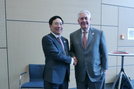 Các hoạt động của Phó Thủ tướng Phạm Bình Minh bên lề Hội nghị Bộ trưởng Ngoại giao G20