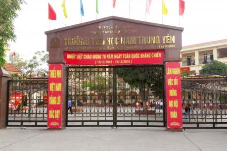 Chính thức cách chức Hiệu trưởng, Hiệu phó trường Tiểu học Nam Trung Yên