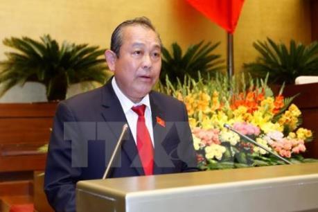 """Phó Thủ tướng Trương Hòa Bình yêu cầu làm rõ thông tin """"cả họ làm quan"""""""