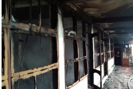 Cháy lớn tại nhà hàng Thượng Hà, Thanh Hóa