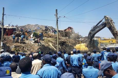 Lở đất nghiêm trọng tại Ethiopia, 46 người thiệt mạng