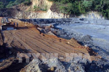 Kiểm tra doanh nghiệp liên quan đến sự cố vỡ đập bùn thải ở Nghệ An