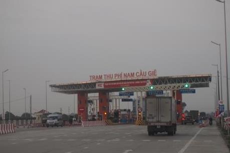 Bộ Giao thông Vận tải giảm thời gian thu phí đối với 13 dự án BOT