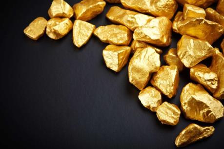 Giá vàng chạm mức cao nhất trong 2 tuần