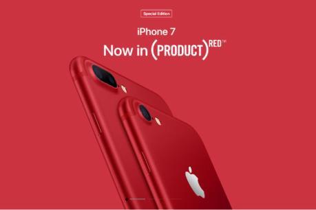Thêm màu mới cho bộ sưu tập các phiên bản iPhone 7 và 7 Plus
