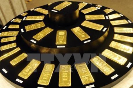 Giá vàng chạm mức thấp nhất trong bốn tuần