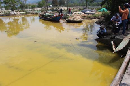 Thừa Thiên - Huế phản hồi thông tin nước biển chuyển màu vàng