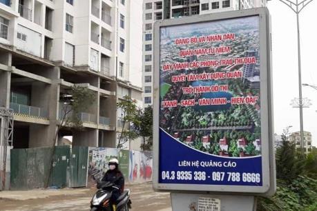 """Ngỡ ngàng biển cổ động có chữ quận """"Nam Từ Niêm"""" ở thủ đô Hà Nội"""