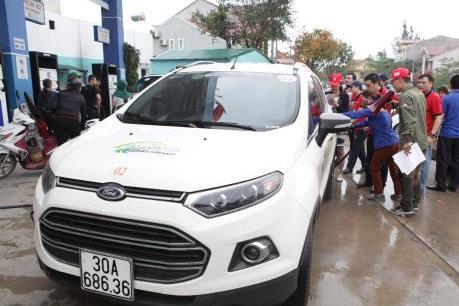 Ford Fiesta, EcoSport tiêu thụ bao nhiêu nhiên liệu trong 100 km?