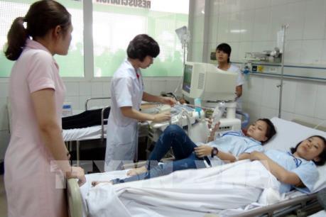 42/50 công nhân ngộ độc thực phẩm tại Nghệ An đã ra viện