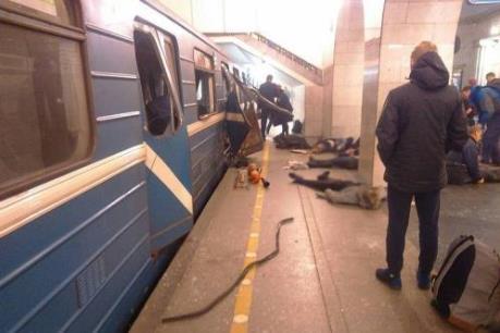 Nổ ga tàu điện ngầm ở Nga: Nghi phạm đánh bom liều chết