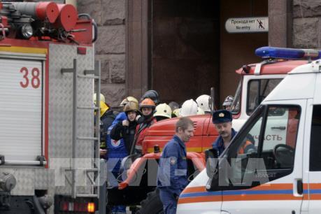 Diễn biến mới vụ nổ tại ga tàu điện ngầm ở Nga