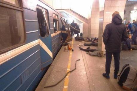 Nổ ga tàu điện ngầm ở Nga: Số người thiệt mạng tăng lên 14