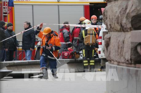 Vụ nổ ga tàu điện ngầm ở Nga: Thêm 2 nghi can bị bắt giữ