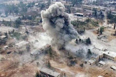 Mỹ bắn gần 70 quả tên lửa Tomahawk vào Syria