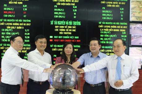 Tp. Hồ Chí Minh đưa thông tin quan trắc môi trường lên bảng điện tử