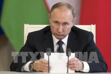 Tổng thống Nga V. Putin nhận định quan hệ với Mỹ xấu đi