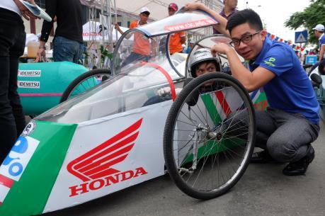 Chung kết cuộc thi Lái xe sinh thái-Tiết kiệm nhiên liệu Honda 2017