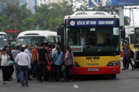 Xe buýt Hà Nội: Lộ trình nhánh tuyến 03B, 10B, 40A, 40B