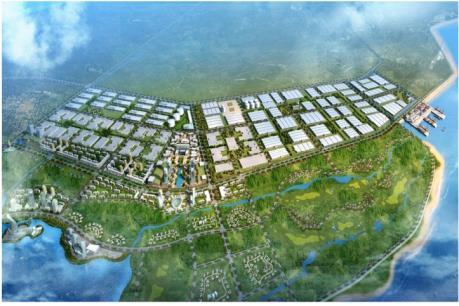 Nam Định khởi công Khu công nghiệp dệt may lớn