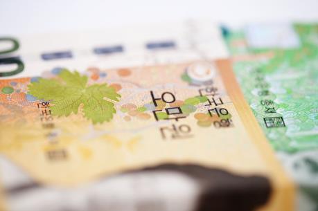 Doanh thu bán trái phiếu của các doanh nghiệp Hàn Quốc sụt giảm trong tháng Ba
