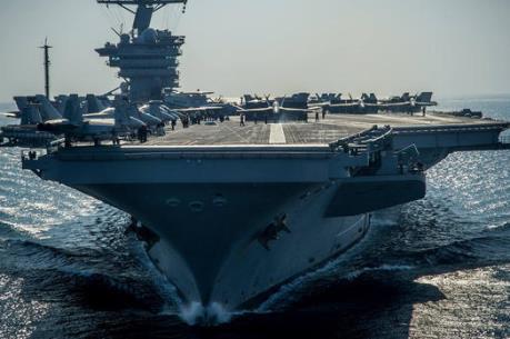 Tàu USS Carl Vinson của Mỹ đang trên đường đến Bán đảo Triều Tiên