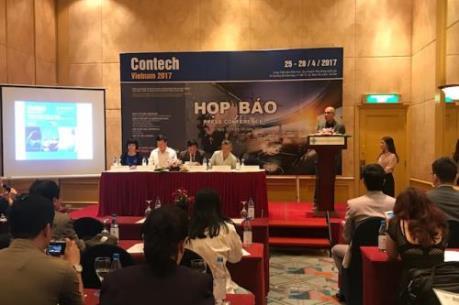 CONTECH VIETNAM 2017: Cơ hội cho các nhà đầu tư máy móc, thiết bị xây dựng