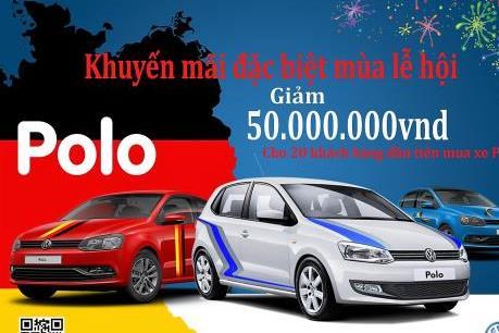 Volkswagen Việt Nam ưu đãi giá bán xe đến 145 triệu đồng