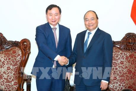 Thủ tướng Nguyễn Xuân Phúc tiếp Tổng Giám đốc Công ty Hyundai Motor