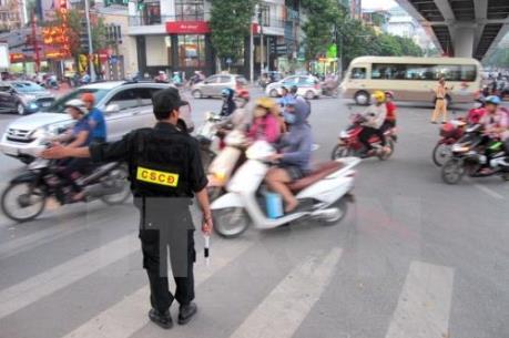 APEC 2017: Hà Nội phân luồng giao thông phục vụ Hội nghị SOM II