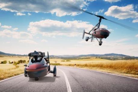 Lần đầu tiên ra mắt hai mẫu ô tô bay