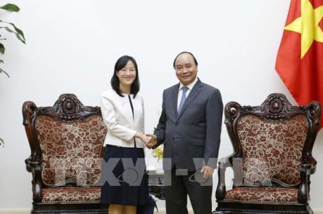 Thủ tướng Nguyễn Xuân Phúc tiếp Tập đoàn Bảo Thành (Đài Loan, Trung Quốc)