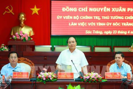 Thủ tướng: Sóc Trăng cần mở rộng lúa cao sản, loại trái cây lợi thế