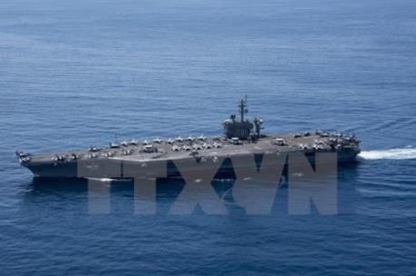 Triều Tiên cảnh báo việc Mỹ điều tàu sân bay đến Bán đảo Triều Tiên