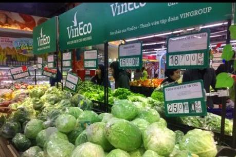 Có 500 hộ nông dân ký kết hợp tác với VinEco