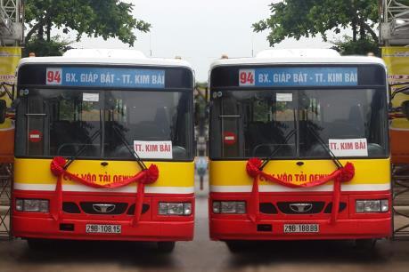 Xe buýt Hà Nội: Lộ trình tuyến buýt mới 93 và tuyến 94