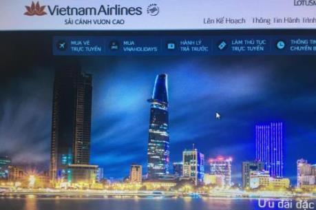 Vietnam Airlines tặng mã giảm giá cho các chuyến bay nội địa