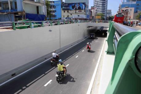 Đà Nẵng thông xe Nút giao thông phía Tây cầu Sông Hàn