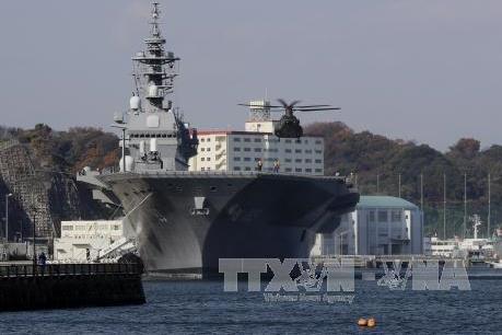 Liệu Nhật Bản có tham gia sứ mệnh bảo vệ tàu Mỹ hay không?