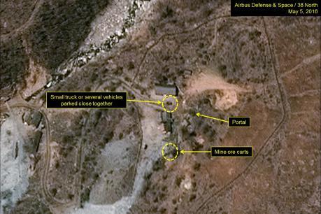 Triều Tiên nối lại hoạt động tại bãi thử hạt nhân