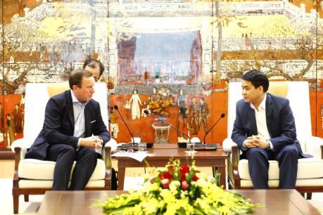 Chủ tịch Nguyễn Đức Chung: Hà Nội coi trọng kêu gọi đầu tư từ châu Âu